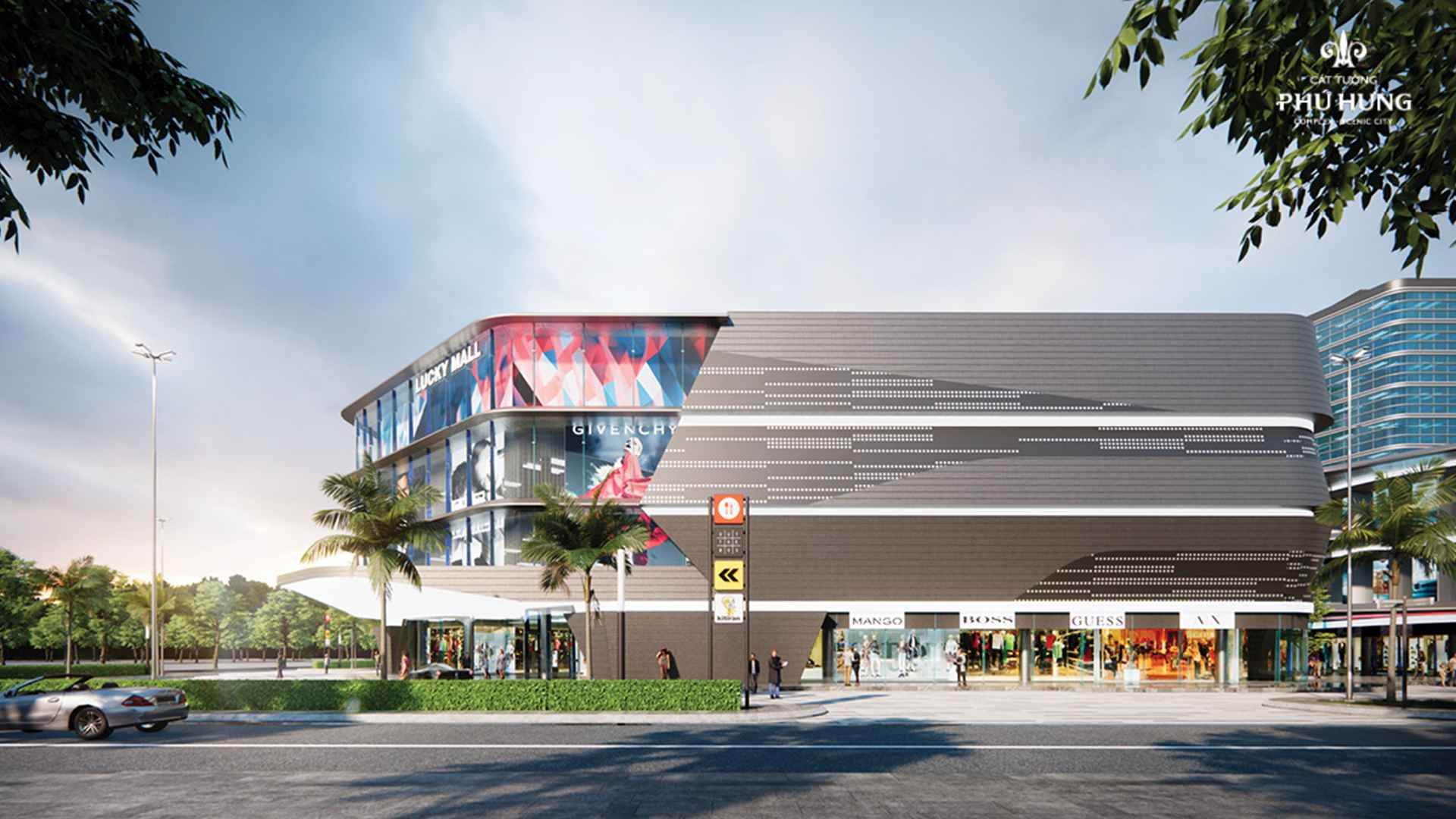 Trung tâm thương mại Lucky Mall quy mô 2,8ha